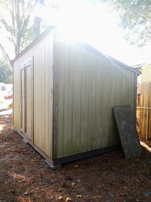 PENDING PICKUP - Free Extra Large Wooden Shed for Sale in Virginia Beach, VA