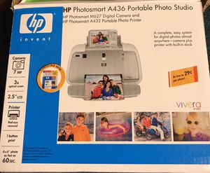 HP Photosmart A436 Portable photo studio for Sale in Lockport, NY
