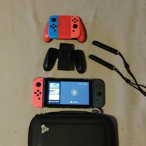 Nintendo Switch With Bumper Case Installed. All Cords Included. for Sale in Stockton, CA