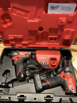 Milwaukee M12 fuel power drill for Sale in Round Hill, VA