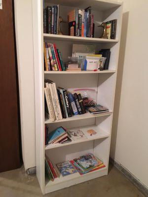 White bookshelf for Sale in Tigard, OR