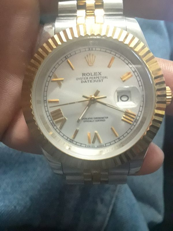 Mens Rolex 18k DateJust