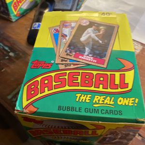 Baseball Cards: 1987 Topps with 36 Packs. Possible Bonds, McGwire, Bo Rookies. for Sale in Murrieta, CA
