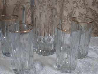 Vintage Italy Pitcher & Drinking Glass Set for Sale in Fort Worth,  TX