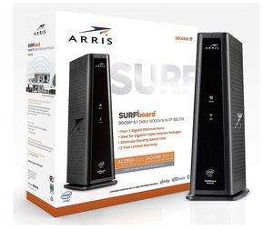 Arris gigabit internet modem and WiFi router for Sale in Burleson, TX