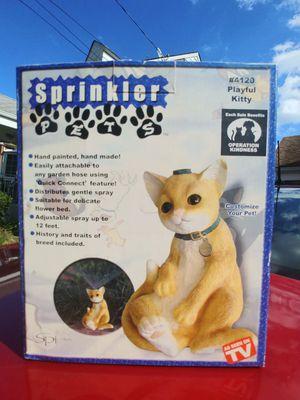 Cat sprinkler for Sale in Linden, NJ