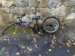 Trailer bike Almost New Great For Kids for Sale in Needham, MA