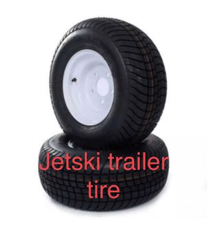 Jetski trailer tires and rims fits boat trailers for Sale in Miami, FL