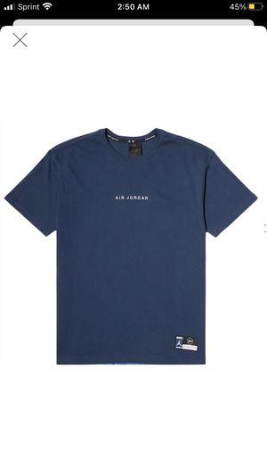 Nike air Jordan 3 fragment t shirt navy size large for Sale in Bellevue, WA