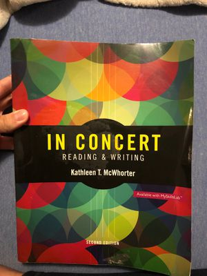 In Concert Reading & Writing by Kathleen T. McWhorter for Sale in Miami, FL