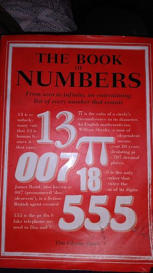 The book of numbers for Sale in Los Angeles, CA