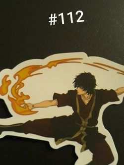 Zuko From Avatar The Last Airbender Sticker for Sale in Keizer,  OR