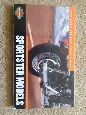 Harley Davidson 883 Sportser owner's manual for Sale in North Ridgeville, OH