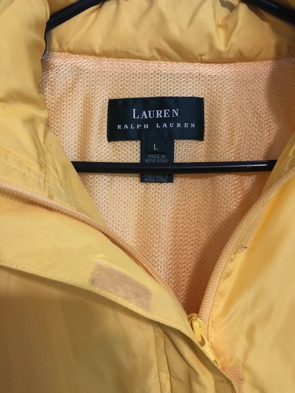 Ralph Lauren pull over (Lg) women's with Hoodie
