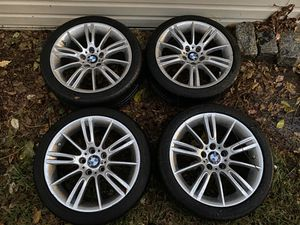 BMW OEM M SPORT WHEELS & TIRES W/TPMS STYLE 193 for Sale in Queens, NY