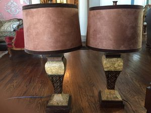 Two Lamps With Shades for Sale in Nashville, TN