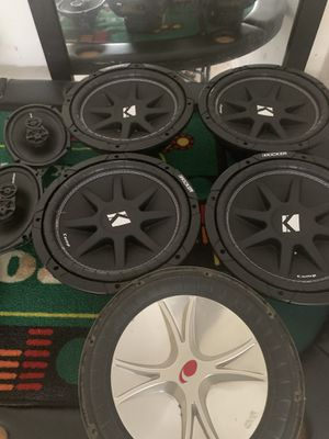 Kicker Comps 12s for Sale in Pflugerville, TX