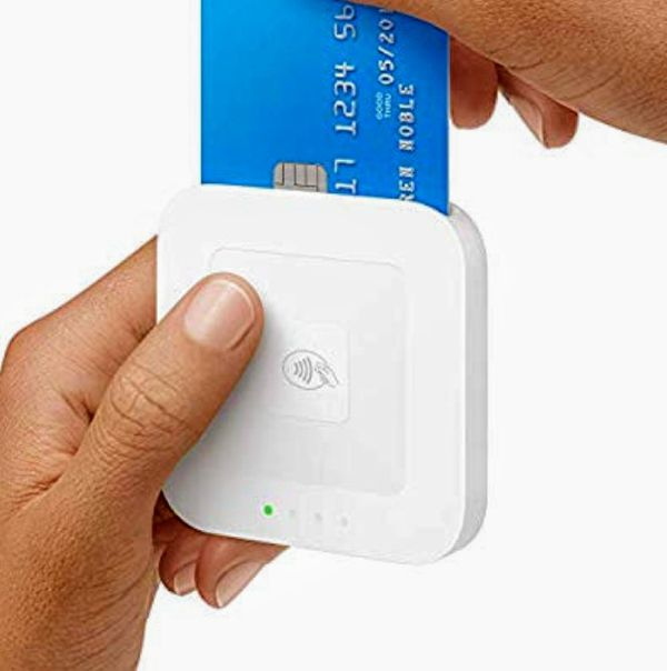 Square card and chip reader with dock new in box