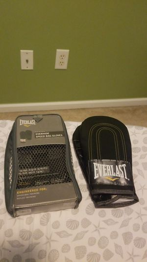 Everlast speed bag gloves for Sale in Jacksonville, FL