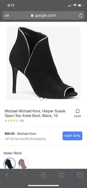 Michael Kors open toe ankle boot for Sale in South Gate, CA