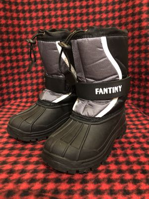 Kids toddler boys size 12 winter snow boots. for Sale in Surprise, AZ