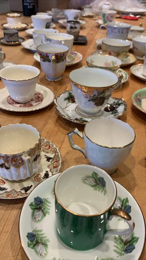 Antique China Teacups and Saucers for Sale in Whittier, CA