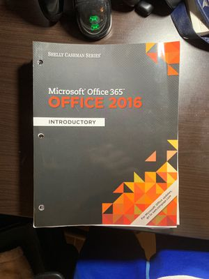 Microsoft Office 365 Office 2016 Introductory for Sale in Port St. Lucie, FL