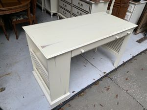 Shabby Chic Computer Desk with Shelf Storage for Sale in Lake Helen, FL