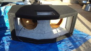 """10"""" speaker box for Sale in Lodi, CA"""