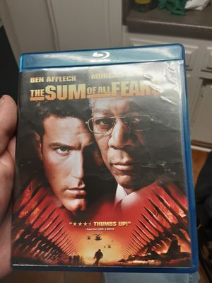 The sum of all fears Blu-ray movie for Sale in Santa Ana, CA