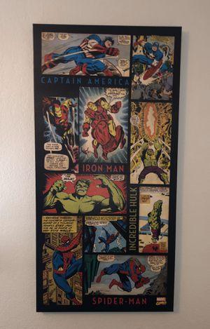 BIG Avengers Comic Wall Art (Canvas) for Sale in Lodi, CA