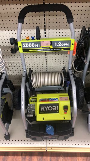 Ryobi 2000PSI Electric Washer for Sale in Dallas, TX