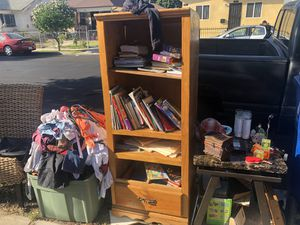 FREE Books, Kids clothes, items, chair for Sale in Los Angeles, CA