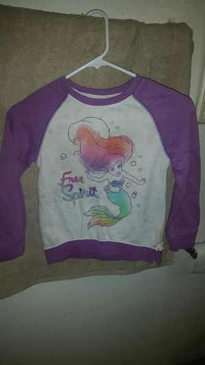 Little Mermaid sweater size 5/6 for Sale in Orange, CA