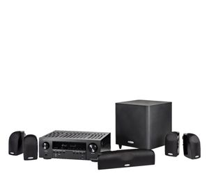 Polk Audio - Blackstone TL1600 and Denon AVR-S540BT Home Theater Package 5.1-Ch. Home Theater Speaker System - Black for Sale in Clearwater, FL