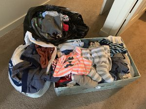 0-12 month baby clothes for Sale in Tacoma, WA
