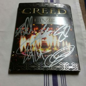 Autographed CREED greatest hits dvd for Sale in Lemon Grove, CA