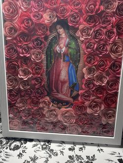 11x14 Virgin Mary Shadow box for Sale in Riverside,  CA