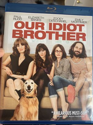 Our Idiot Brother Blu Ray for Sale in San Bernardino, CA