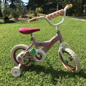 Kids Children Bike Bicycle With Training Wheels for Sale in Cary, NC