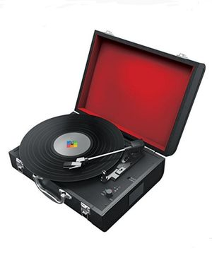 Polaroid Turn Table Bluetooth Portable with built in speakers NEW vinyl Disc player for Sale in Fontana, CA