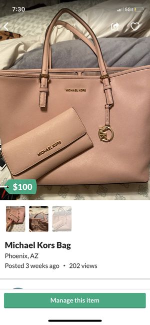 Michael Kors Bag w wallet for Sale in Phoenix, AZ