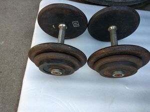 DUMBELLS. for Sale in Norwalk, CA