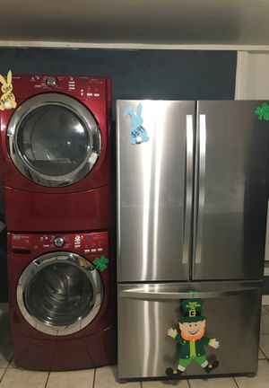 Washer/Dryer/Refrigerator for Sale in Downey, CA