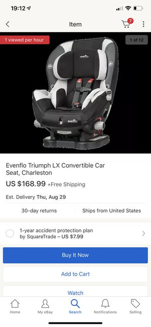 Car seat Evenflo for Sale in Chicago, IL