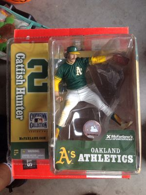 Sports action figures (Catfish Hunter) for Sale in Surprise, AZ
