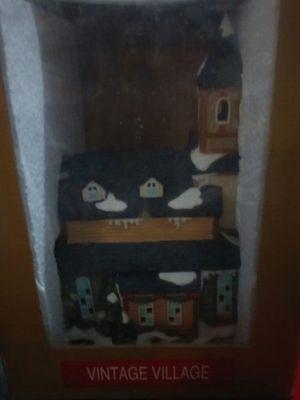Vintage village Christmas decor for Sale in Orlando, FL