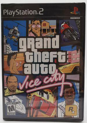 Grand Theft Auto Vice City, PS2 for Sale in El Cajon, CA