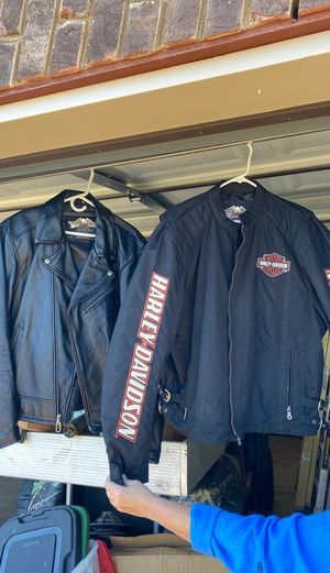 Christmas Is Coming ,Harley Davidson jackets size XL Leather and Cordaroy for Sale in Lebanon, TN
