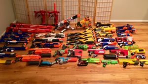 Huge Nerf gun lot!!! for Sale in Bethesda, MD